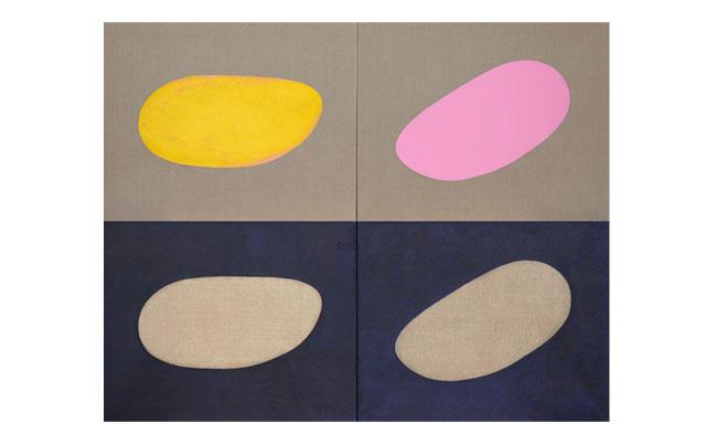 Angelika Beuler Arbeiten auf Leinwand und Papier-image