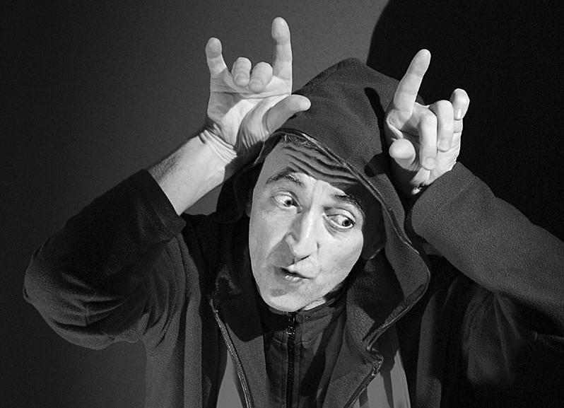 Peter Vogt als Mephisto   Köln, 2006