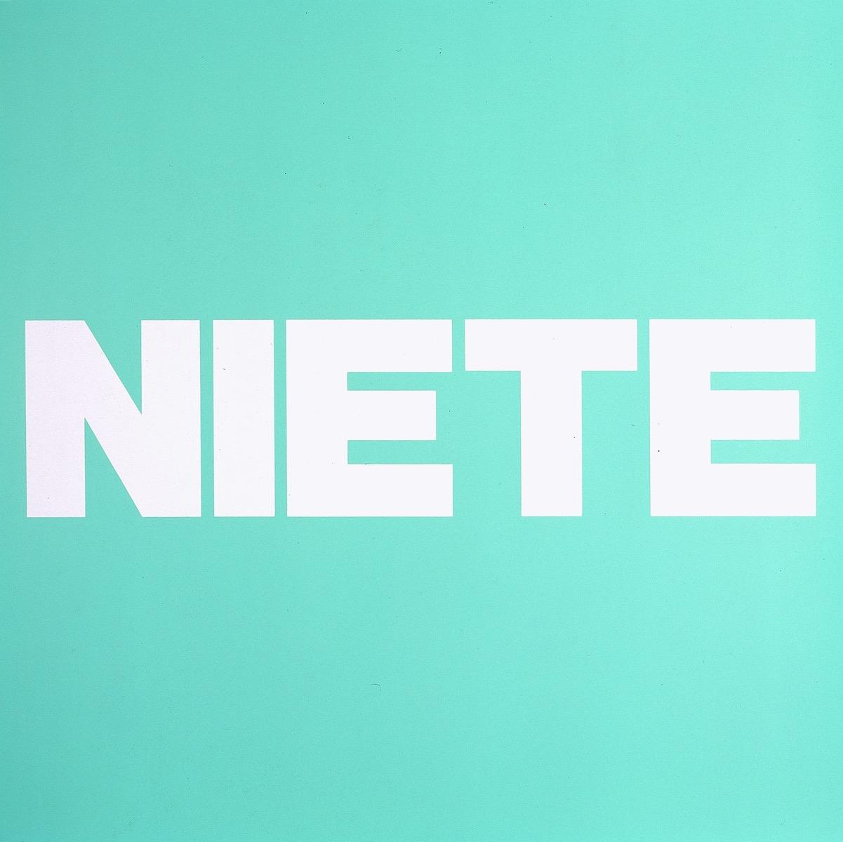 NIETE, GRÜN | Affirmation tut gut | Angelika Beuler | 1992