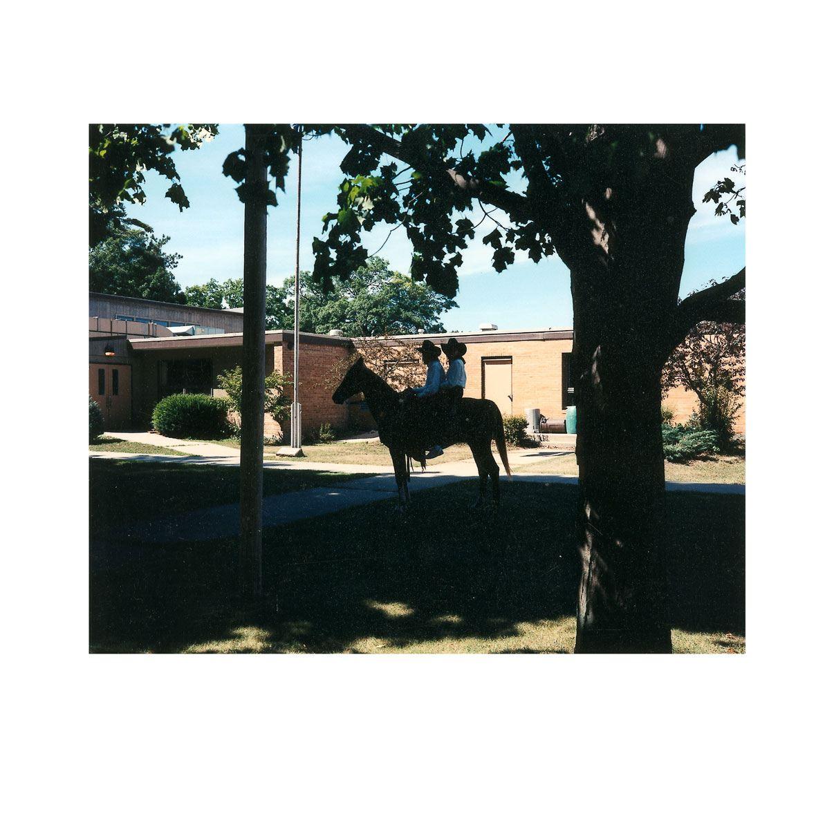 """Double Horse"" | Village Portrait | Pentwater, Michigan, USA | 1996"