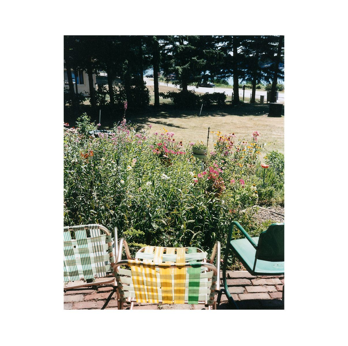 """Lawn Chairs"" | Village Portrait | Pentwater, Michigan, USA | 1996"