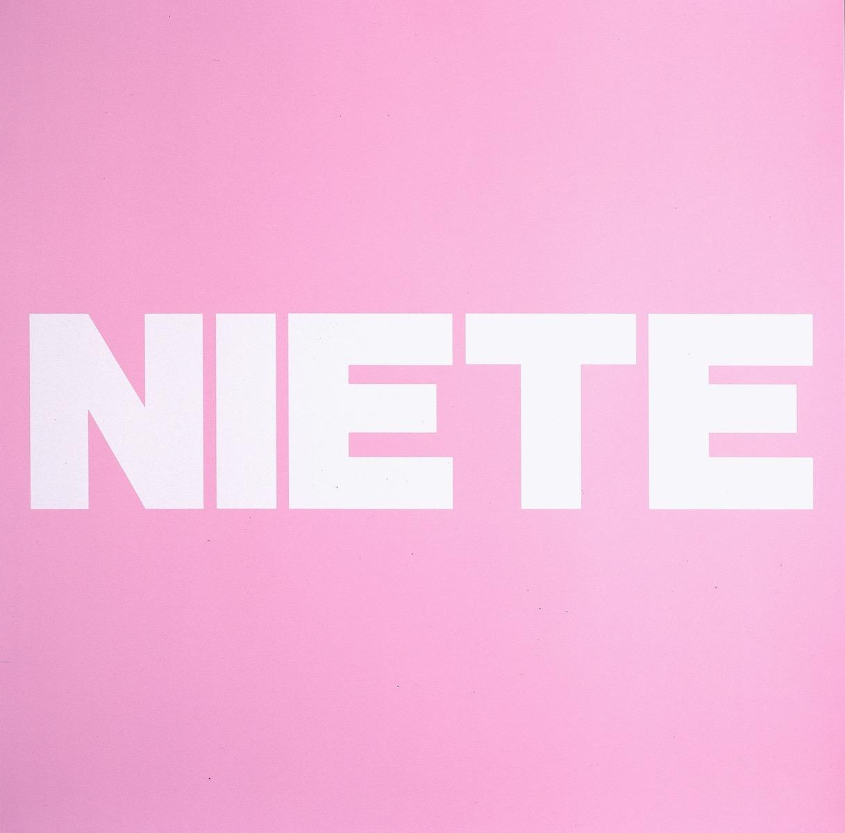 NIETE, ROSA | Affirmation tut gut | Angelika Beuler | 1992