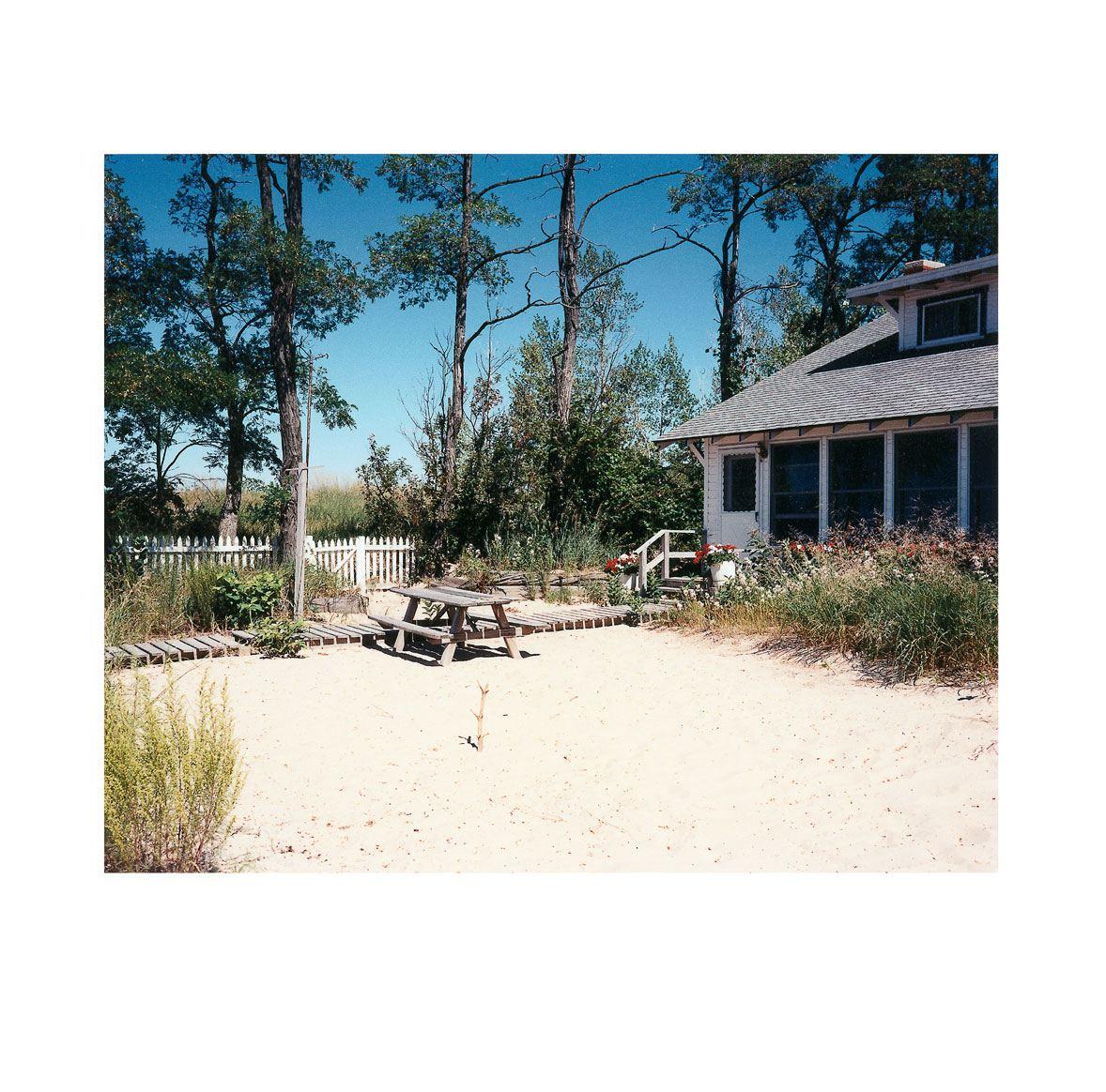 """Cottage by the Beach"" | Village Portrait | Pentwater, Michigan, USA | 1996"