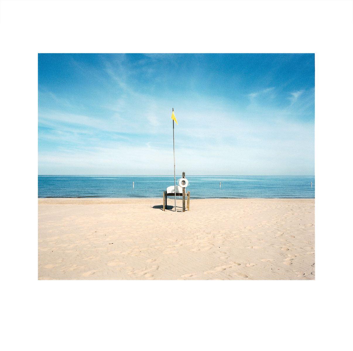 """Morning Beach 1"" | Village Portrait | Pentwater, Michigan, USA | 1996"