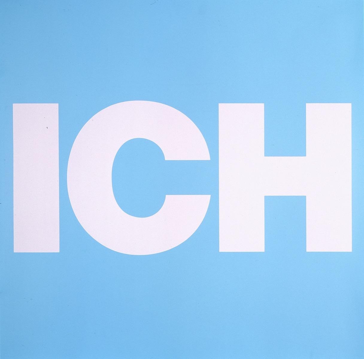 ICH, BLAU | Affirmation tut gut | Angelika Beuler | 1992