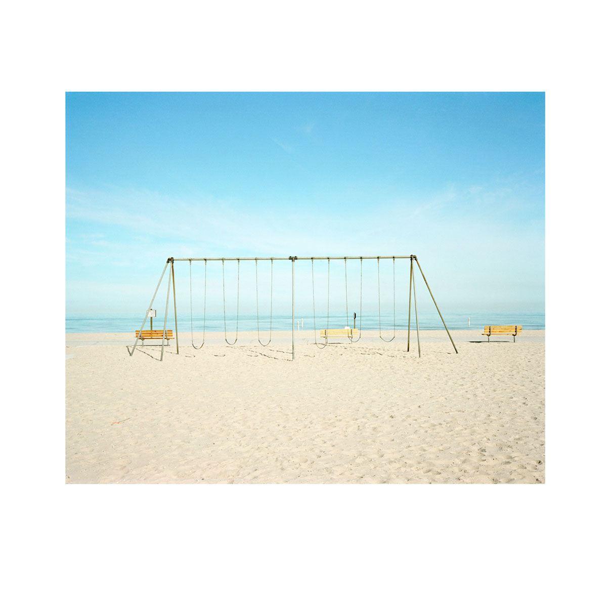 """Morning Beach 3"" | Village Portrait | Pentwater, Michigan, USA | 1996"