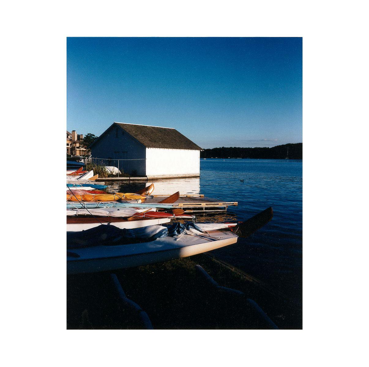 """Boats"" | Village Portrait | Pentwater, Michigan, USA | 1996"