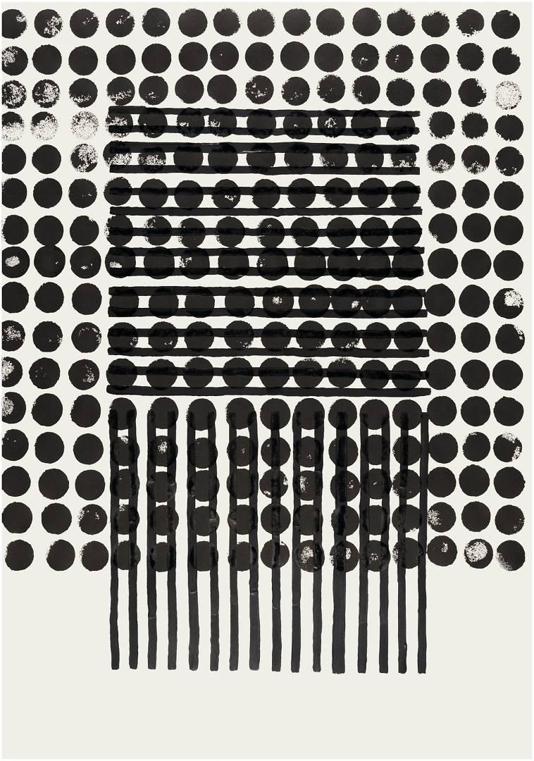 Dot & Stripes, 2017   Digital Print on Paper