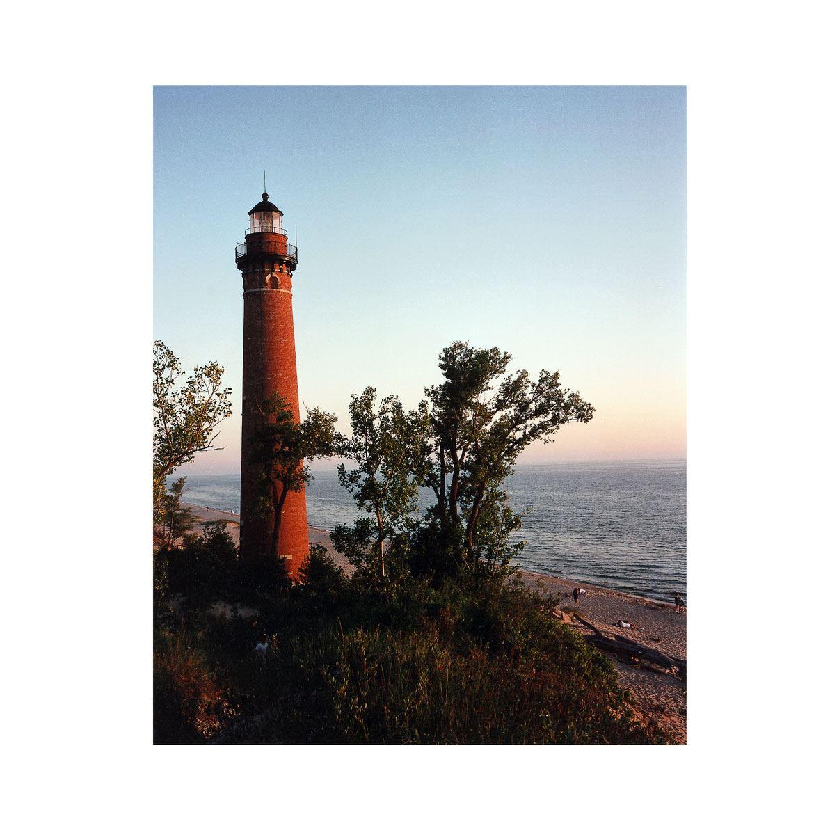 """Lighthouse"" | Village Portrait | Pentwater, Michigan, USA | 1996"
