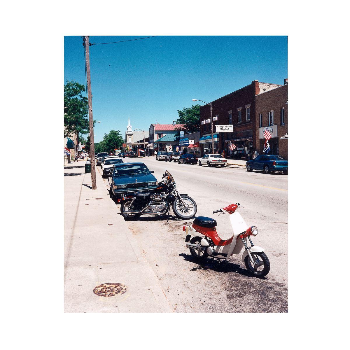 """Hancock Street"" | Village Portrait | Pentwater, Michigan, USA | 1996"