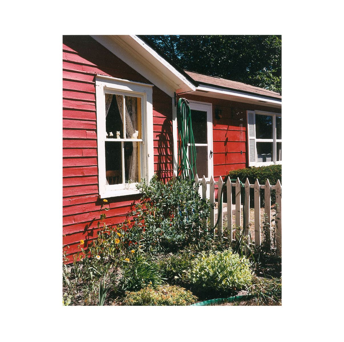 """Red House"" | Village Portrait | Pentwater, Michigan, USA | 1996"