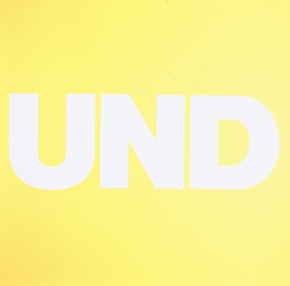 UND, GELB | Affirmation tut gut | Angelika Beuler | 1992