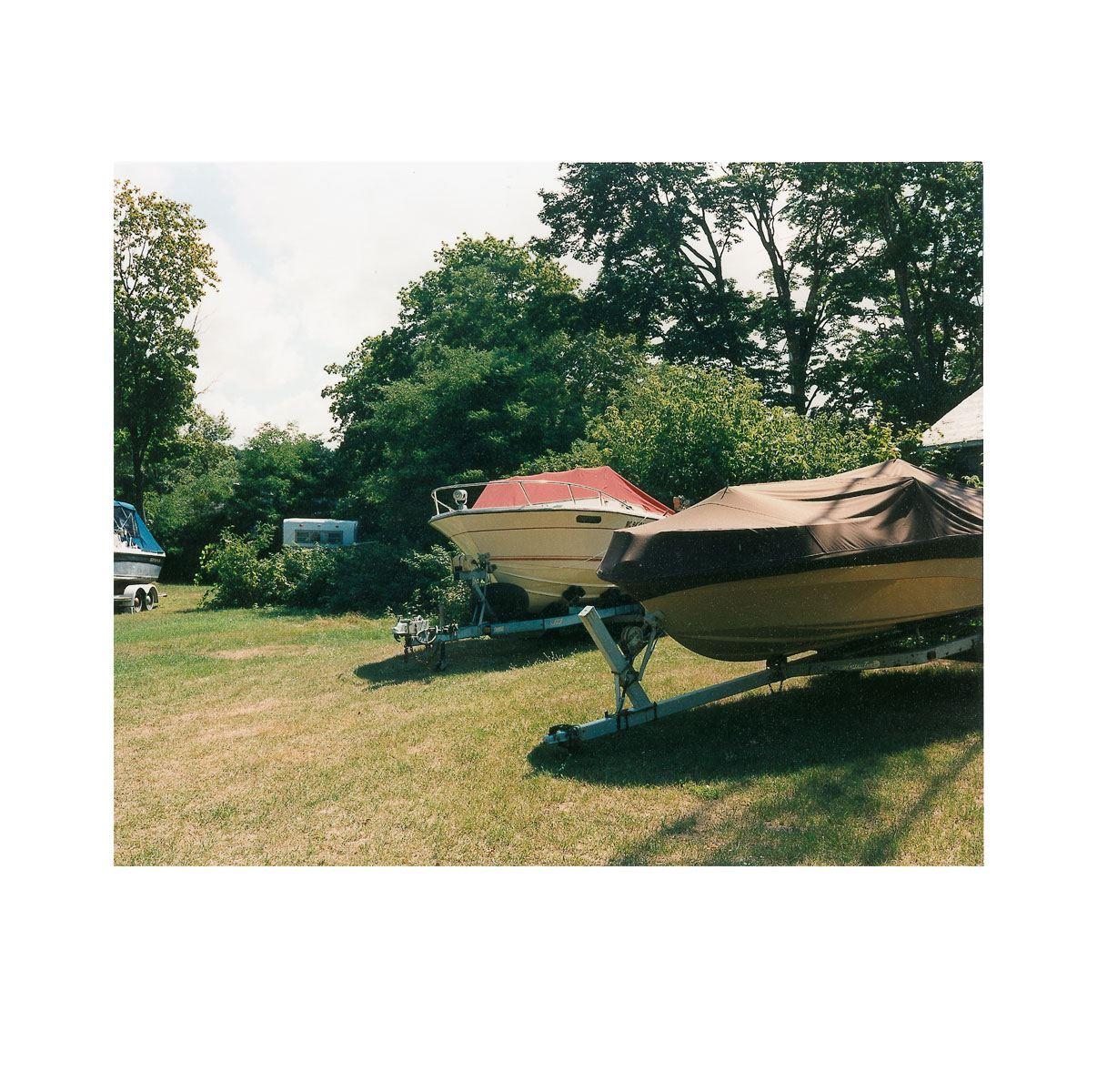"""Dry Dock"" | Village Portrait | Pentwater, Michigan, USA | 1996"