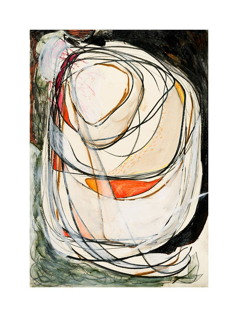 Umarmung/ Cuddle, 2012   Digital Print on Paper